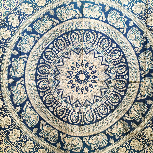 Tapestry and Bedspread Collection with Buddha and Mandala Designs