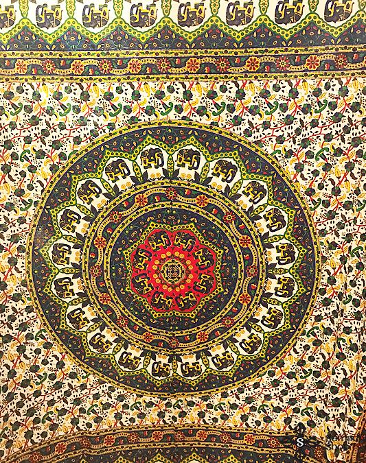 Mandala queen size bedspread tapestry - Samadhi Tibetan-Nepalese ... 6e808028e5